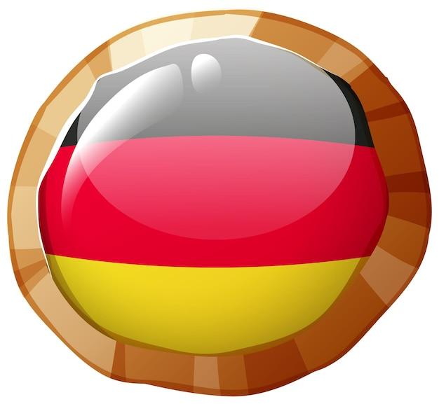 독일 국기 배지 디자인
