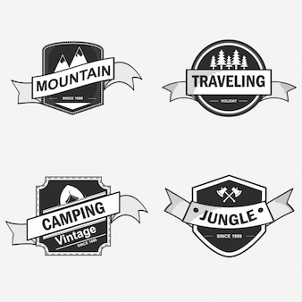 Badge designs collection