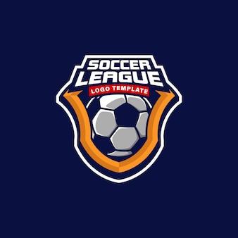 Badge logo soccer team, tournament logo