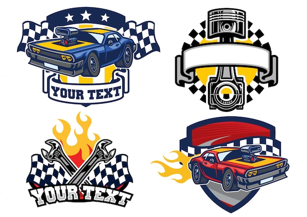 Badge muscle car design