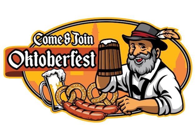 Badge of oktoberfest