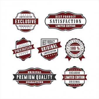 Badge retro  quality collections
