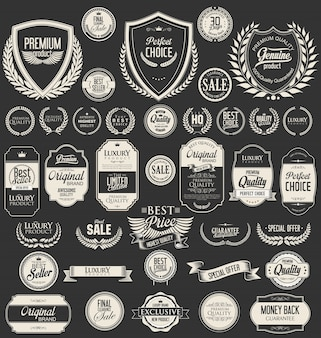 Badges collection