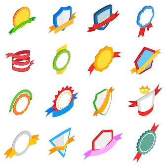 Badges icons set