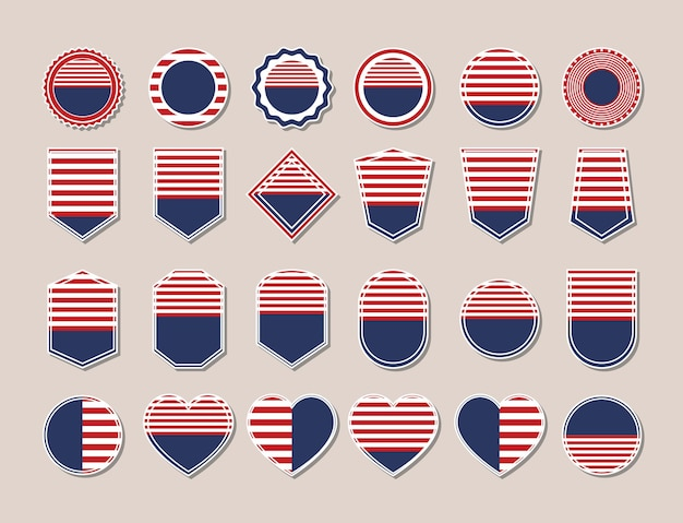 Badges of usa