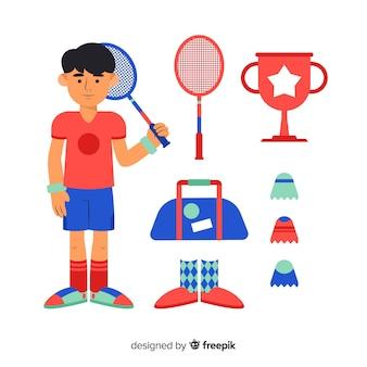 Badminton equipment
