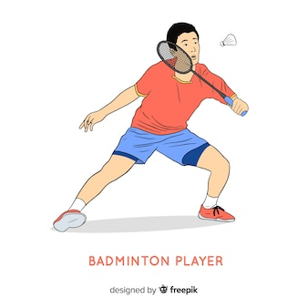 Badminton player
