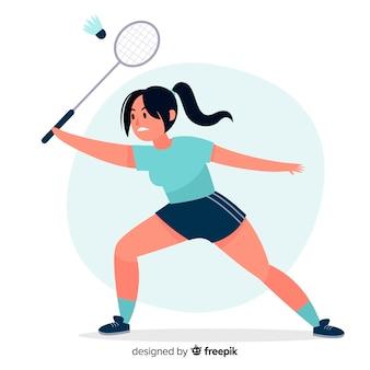 Badminton player