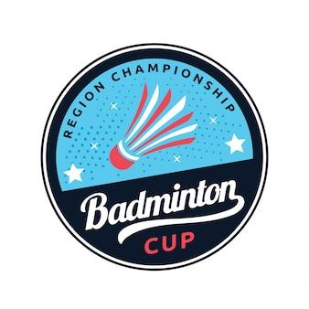 Значок логотипа badminton
