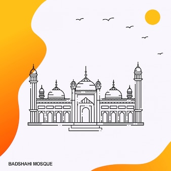 Badshahi mosqueラホールパキスタン