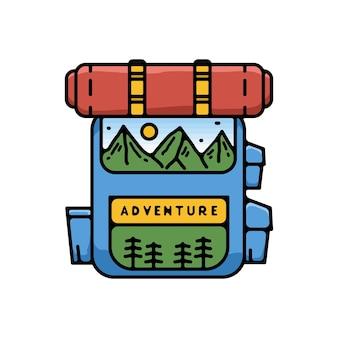 Сумка adventure monoline