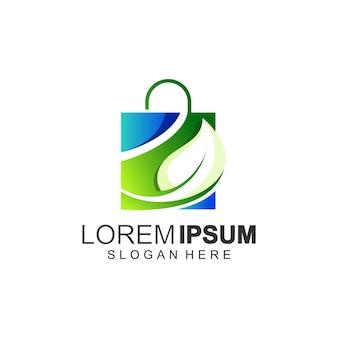 Дизайн логотипа сумки