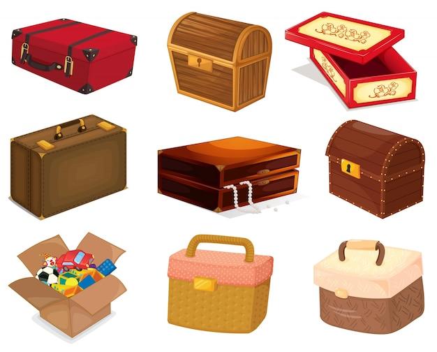 バッグと箱