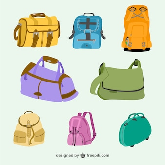 Bags and backpacks collection