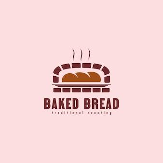 Вдохновение для дизайна логотипа печеного хлеба Premium векторы