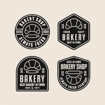 Bakery badge design logos