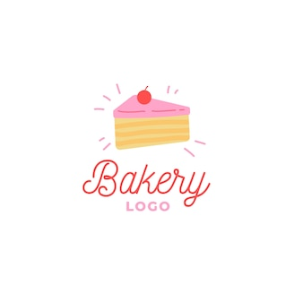 Bakery cake business company logo