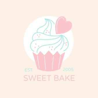 Bakery cake logo