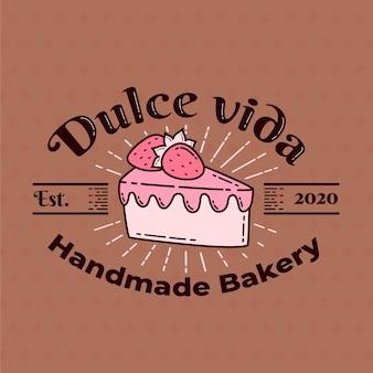 ベーカリーケーキのロゴ