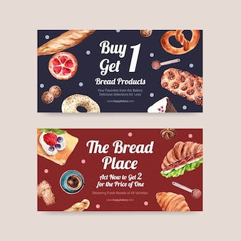 Bakery coupon templates
