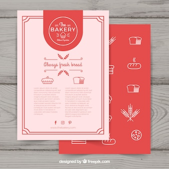 Bakery Flyer Vectors Photos And PSD Files Free Download - Bakery flyer templates free