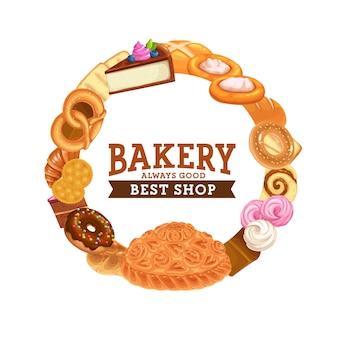 Bakery frame