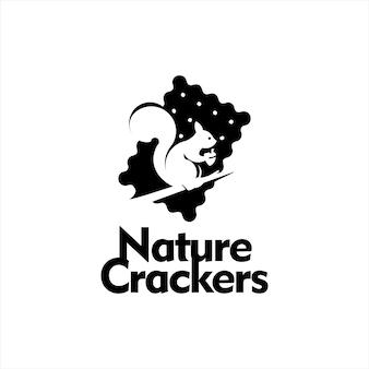 Bakery logo ideas cookie crackers vector
