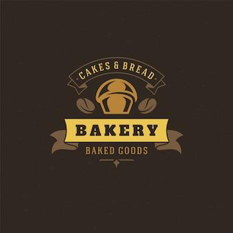 Пекарня логотип ретро