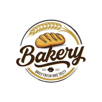 ベーカリーのロゴのテンプレート