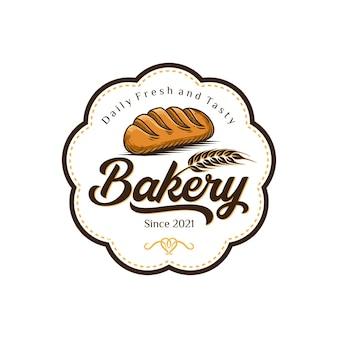 Bakery logo template