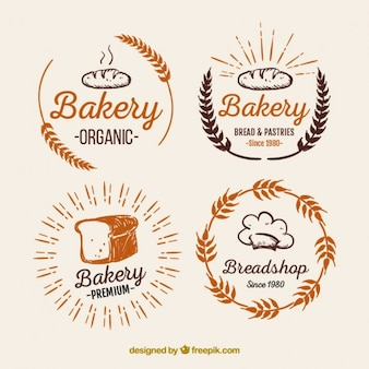Bakery logos pack
