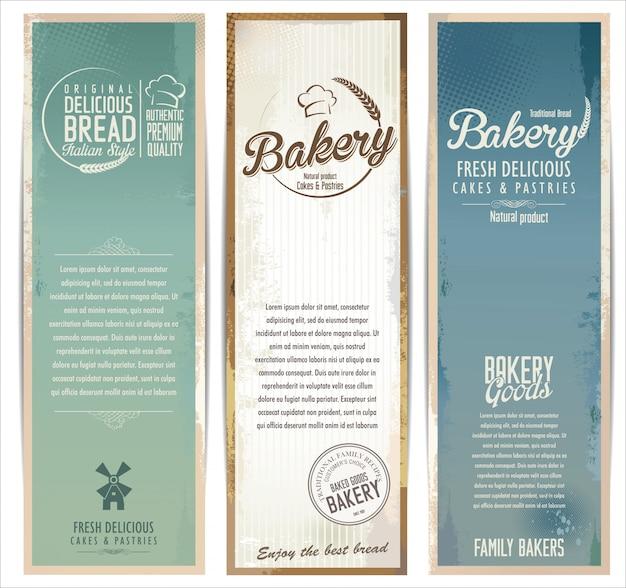 Bakery retro banner