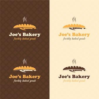 Bakery retro logo design