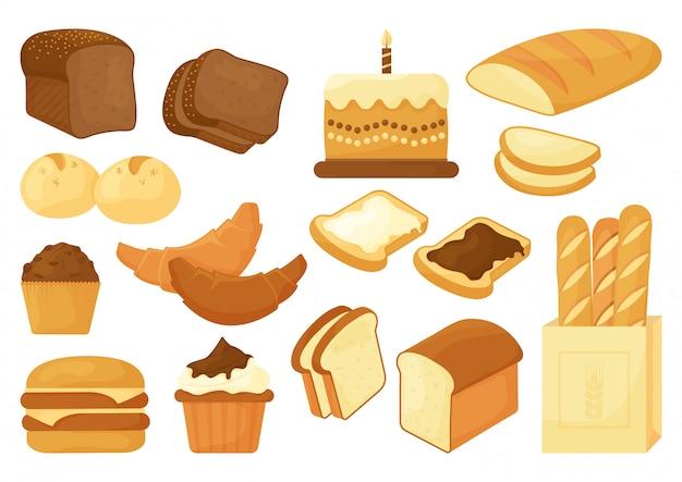 Bakery set.  illustration