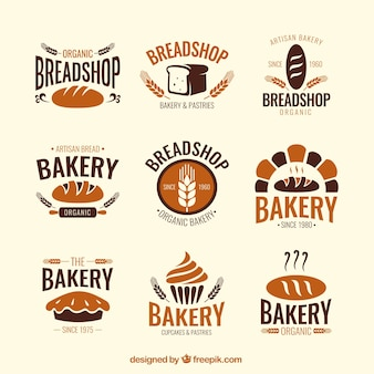 Bakery shop badges