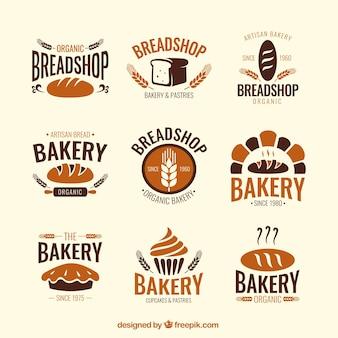 Bakery shop badges