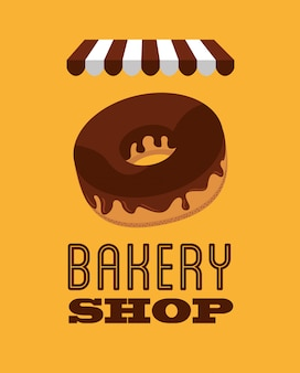 Bakery shop illustration
