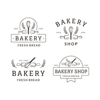 베이커리 숍 로고