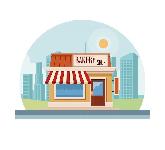 ベーカリーショップ店