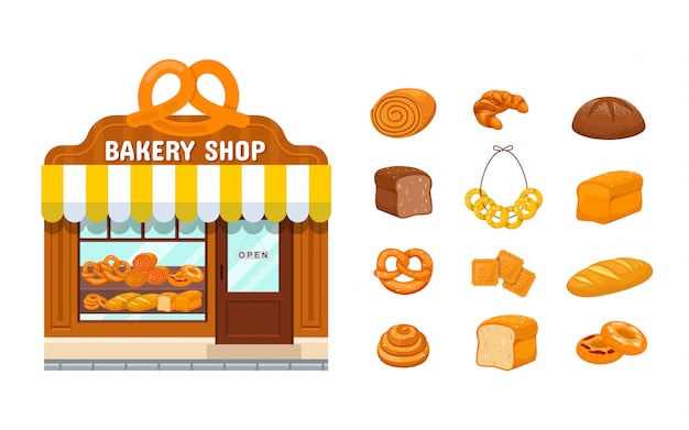 Bakery store and bakery products