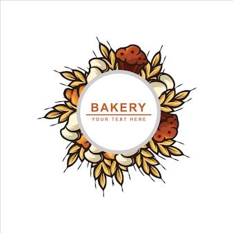 Пекарня старинный логотип