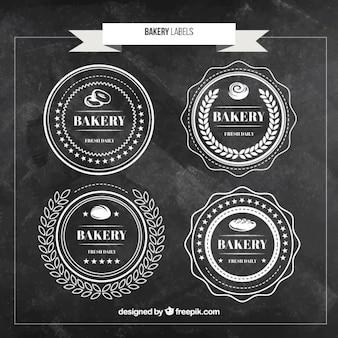 Набор bakery этикетки