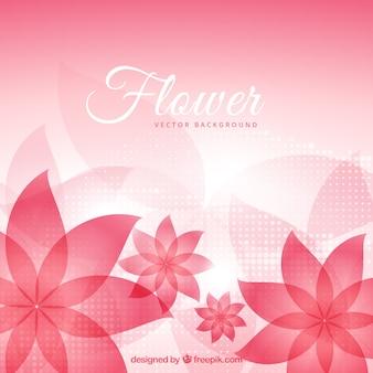 抽象的な花bakground