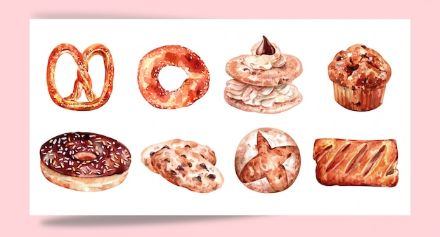 Baking pastry set for designing