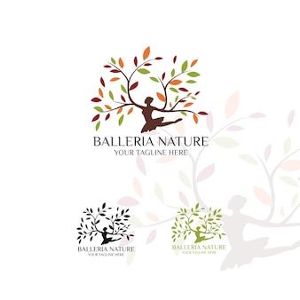 Baleria nature - logo template