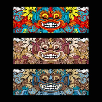 Bali barong culture ornament