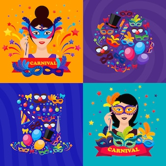 Бальные карнавальные композиции