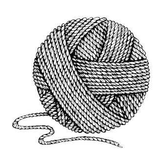 Ball of thread