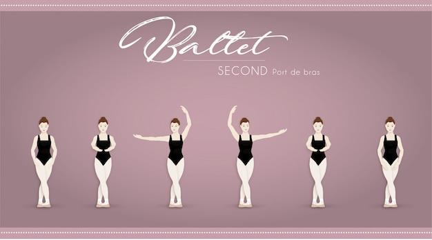 Ballet second port de bras