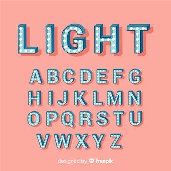 Balloon alphabet